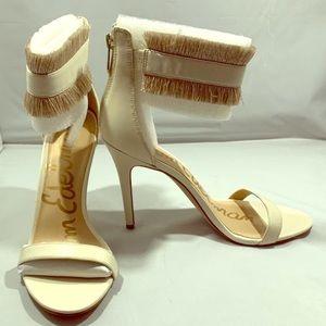 "🆕👠Same Edelman ""Anabeth"" Ivory Dress Sandal"